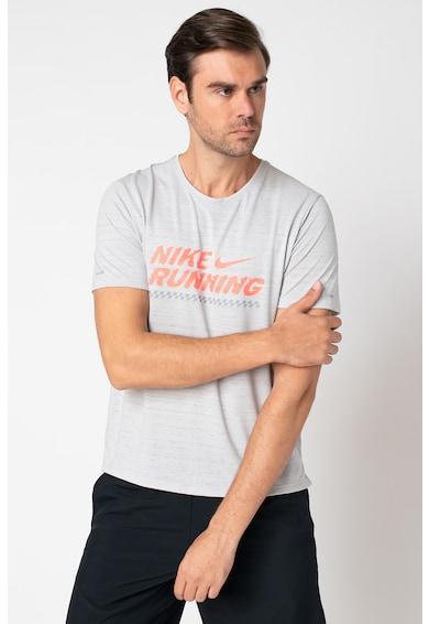 Nike Miler sportpóló futáshoz férfi