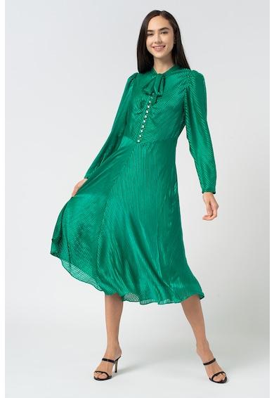 L.K. Bennett Копринена рокля Kiera на верев Жени