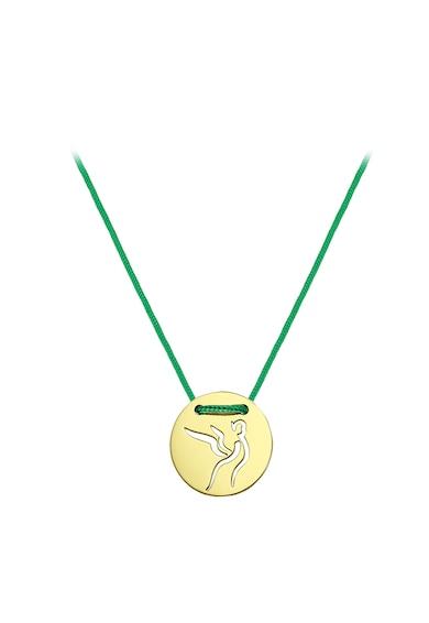 Serenity Nyaklánc kerek 14 karátos arany medállal és cserélhető zsinórral női