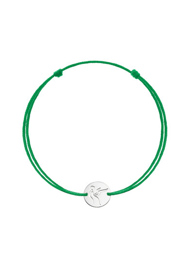 Serenity Bratara cu snururi intersanjabile si talisman din aur de 14K Femei