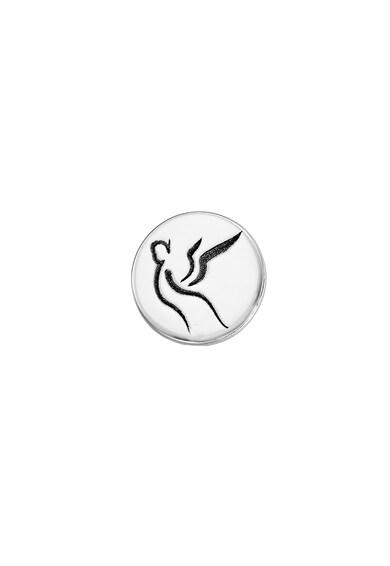 Serenity 14 karátos fehérarany fülbevaló női