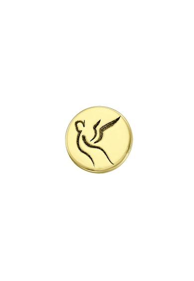 Serenity Kerek 14 karátos arany bedugós fülbevaló női