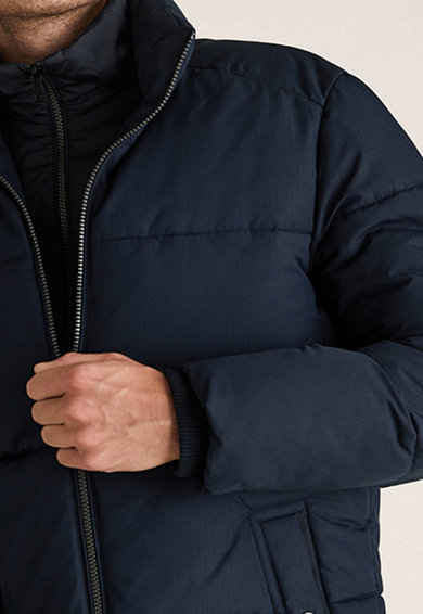 Marks & Spencer Vízlepergető bélelt télikabát férfi