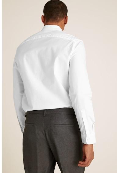 Marks & Spencer Camasa regular fit de bumbac cu buzunar pe piept Barbati