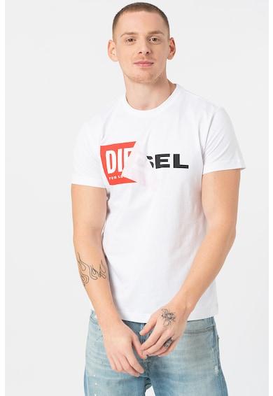 Diesel Logómintás póló férfi