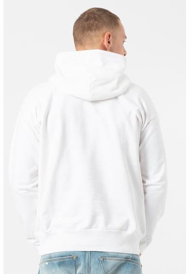 Diesel Alby kapucnis pulóver logómintával férfi