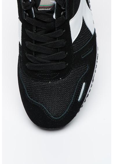 Diadora Titan II hálós anyagú sneaker nyersbőr betétekkel férfi