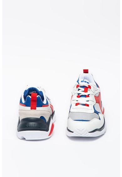 Diadora Pantofi sport cu detalii din piele Whizz Run Barbati