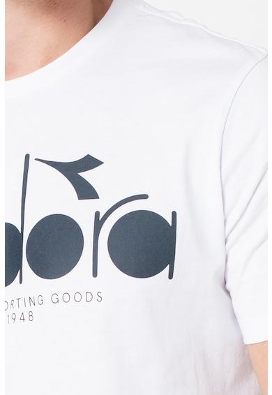 Diadora 5Palle kerek nyakú organikuspamut póló logóval férfi