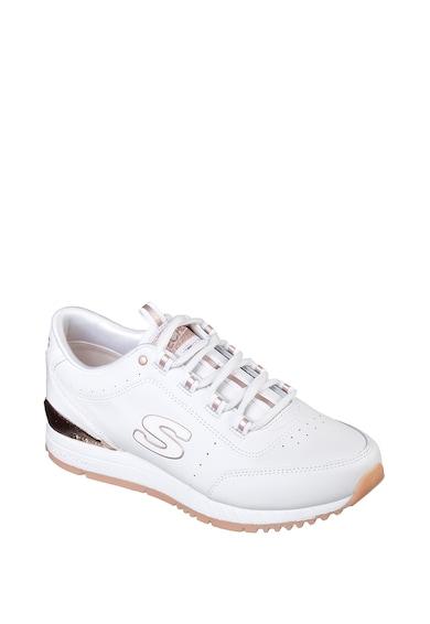Skechers Sunlite - Delightfully OG bőr sneaker perforált részletekkel női