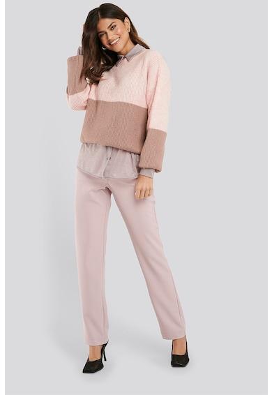NA-KD Colorblock dizájnos pulóver női