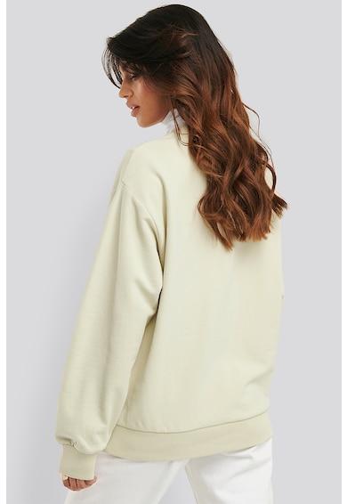 NA-KD Kerek nyakú pulóver kenguruzsebbel női