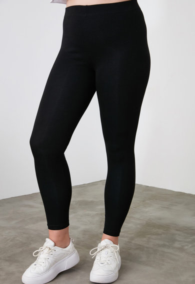 Trendyol Magas derekú skinny fit leggings női