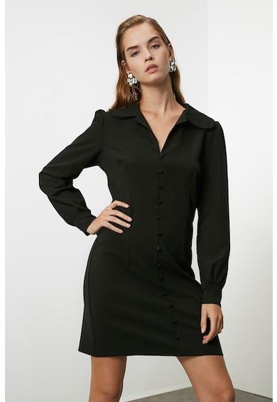 Trendyol Galléros ruha díszgombokkal női