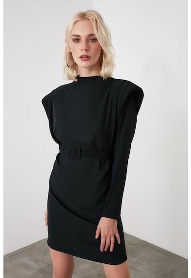 Trendyol Mini ruha nagyméretű vállakkal női