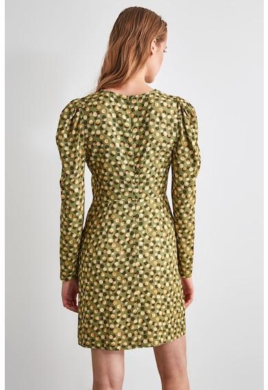 Trendyol Geometrikus mintájú miniruha női
