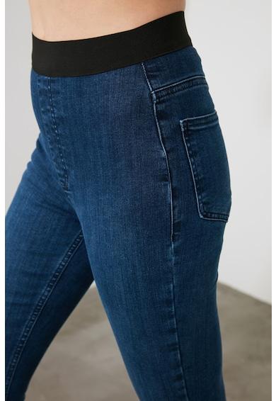 Trendyol Magasított derekú crop nadrág női