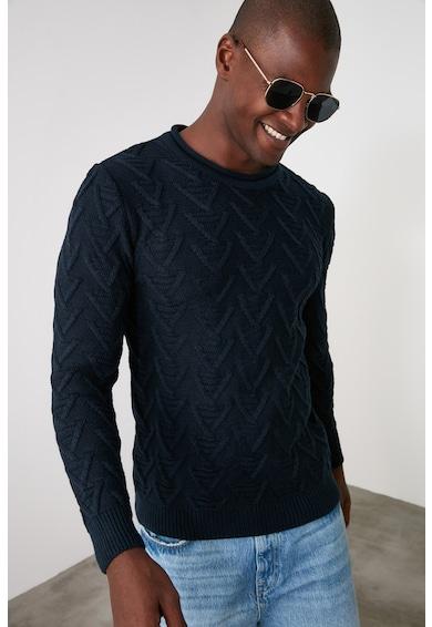 Trendyol Kerek nyakú kötött pulóver 2 férfi