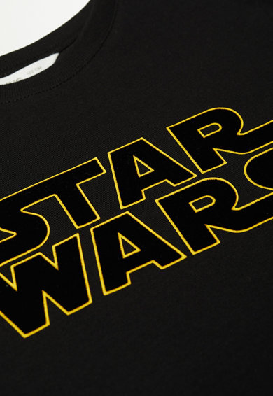 Mango Kerek nyakú póló Star Wars mintával Fiú
