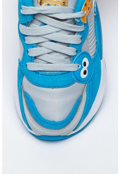 Puma Bőr és hálós anyagú sneaker Fiú