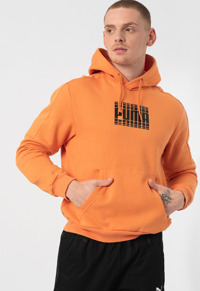 Puma Hanorac relaxed fit cu imprimeu logo Rebel Block Barbati