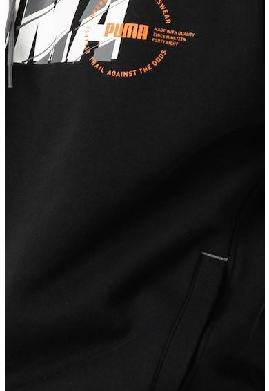 Puma XTG kényelmes fazonú kapucnis pulóver logóval férfi