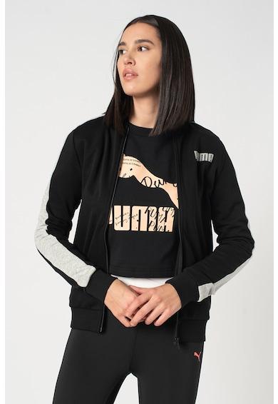 Puma Contrast FX cipzáros pulóver női