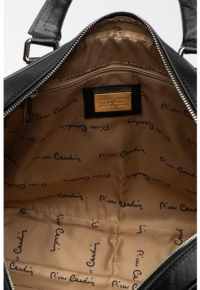 Pierre Cardin Bőr laptoptáska levehető vállpánttal férfi