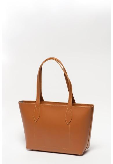 Pierre Cardin Shopper fazonú bőrtáska logórátéttel női