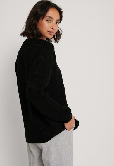 NA-KD Kerek nyakú pulóver női