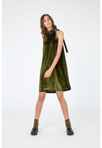 Framboise Fresco bársonyos hatású miniruha női