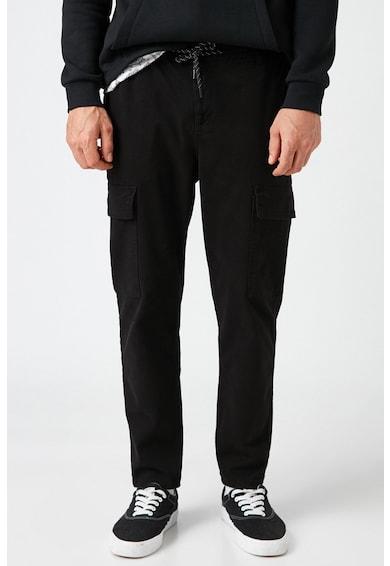 KOTON Pantaloni cargo cu snur Barbati