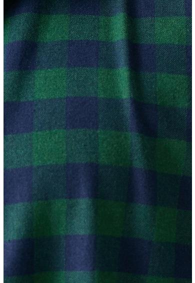 KOTON Kockás ing hegyes gallérral férfi