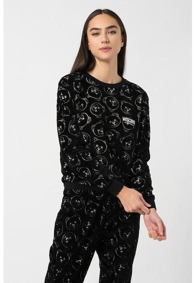 Moschino Pizsamafelső monogramos mintával női
