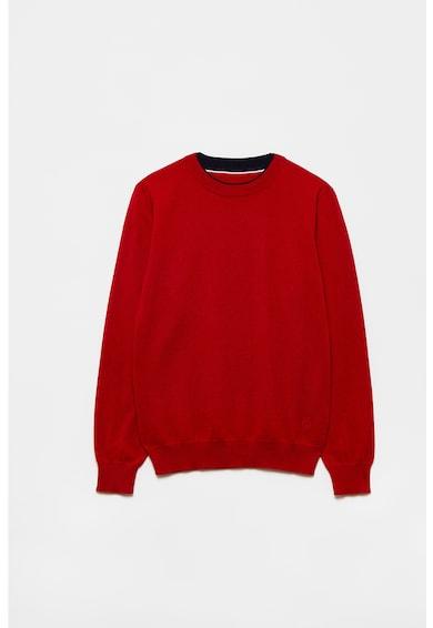 OVS Gyapjútartalmú pulóver finomkötött hatással Fiú