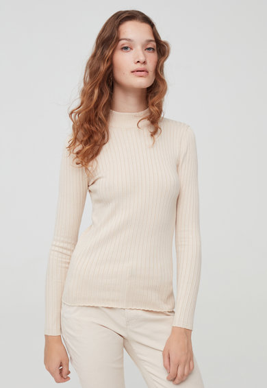 OVS Bordázott pulóver női