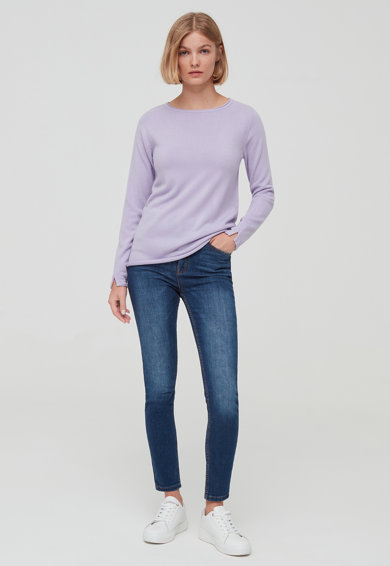 OVS Kerek nyakú pulóver női