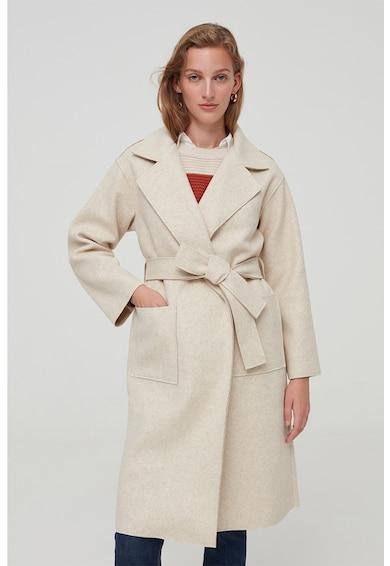 OVS Átlapolt fazonú középhosszú kabát női
