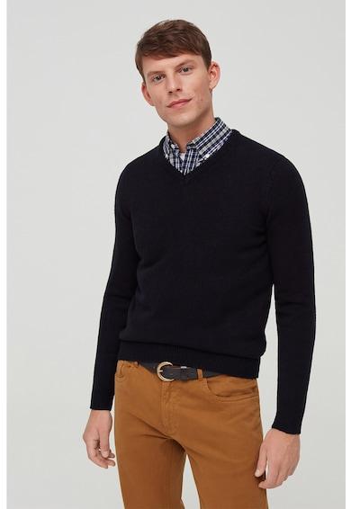 OVS V-nyakú finomkötött pulóver férfi