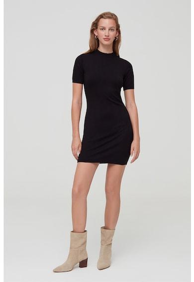 OVS Szűkített fazonú ruha rövid ujjakkal női