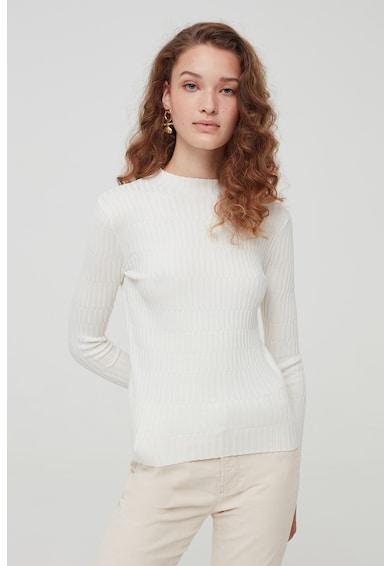 OVS Texturált pulóver kissé megemelt nyakrésszel női