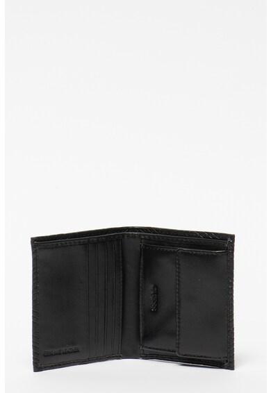 Guess Baldo összehajtható pénztárca dombornyomott logóval, kulcstartóval férfi