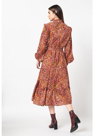 Missguided A-vonalú aszimmetrikus ruha megkötővel női