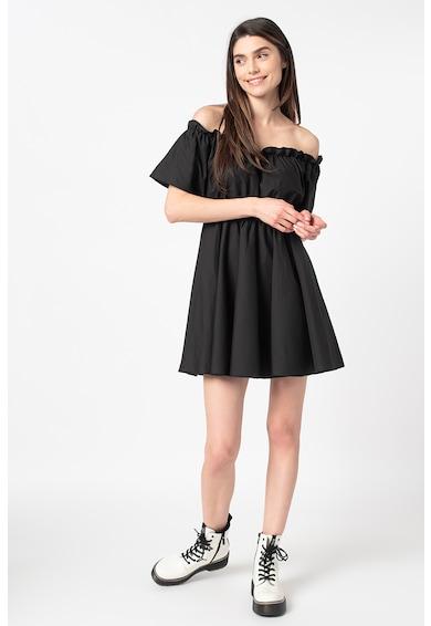 Missguided Ejtett vállú bővülő ruha női
