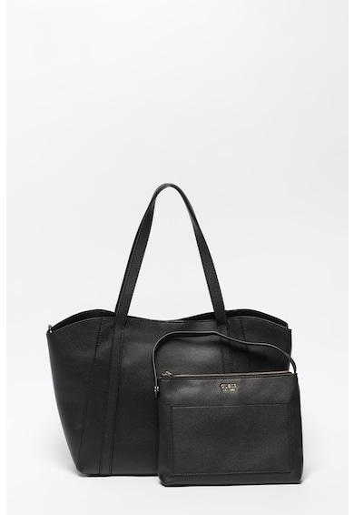 Guess Naya shopper fazonú műbőr táska kivehető kistáskával női