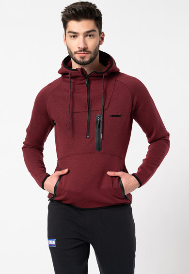 Fundango Marco kapucnis pulóver gumis logó rátéttel a mellrészen férfi