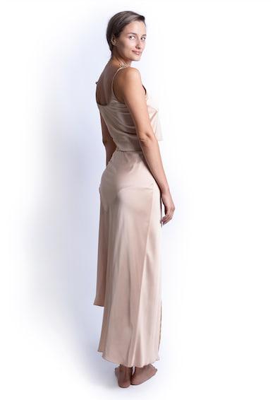 Azaris Szatén hatású aszimmetrikus szoknya női