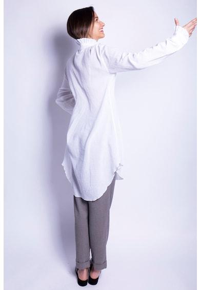 Azaris Lentartalmú ing aszimmetrikus alsó szegéllyel női