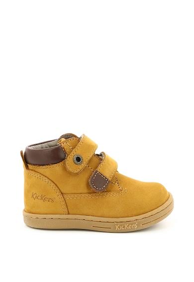 Kickers kids Nubukbőr tépőzáras cipő Lány