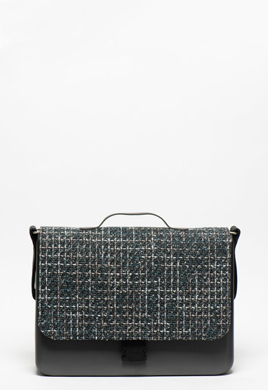 O bag Folder keresztpántos táska fedőlappal női